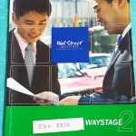 ►Wall Street◄ ENG 8855 หนังสือเรียนสถาบัน Wall Street ภาษาอังกฤษ Waystage 2 มีโจทย์ภาษาอังกฤษหลากหลายรูปแบบ เช่น Grammar,Vocab, Writing,Conversation,Crossword, เลือกคำศัพท์แล้วนำมาเติม, โยงเส้น, มี Skill Practise ที่น่าสนใจหลายแบบฝึกหัด จดครบทั้งเล่ม หนัง