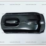 ฝาปิดบังโซ่ RC100-J2 สีดำ