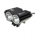 ไฟหน้าจักรยาน Solar strom X2 LED CREE XML-T6 2400 lumen