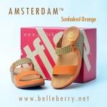 **พร้อมส่ง** FitFlop AMSTERDAM : Sunbaked Orange : Size US 8 / EU 39