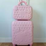กระเป๋าล้อลากโพลี่คาบอนเนต ล้อหมุน 360 ํคิตตี้ เซต 2 ใบ (ส่งฟรีธรรมดา / ems. เซตละ 150 บ.)