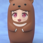 Nendoroid More: Face Parts Case (Brown Bear)