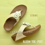 **พร้อมส่ง** FitFlop BLOOM : Stone : Size US 7 / EU 38
