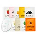 Preorder Skinfood Beauty in a Food Mask Sheet 미인(美-in) 푸드 마스크 시트 20ml 1,000won มาร์คแผ่นเพิ่มความสวย สุขภาพดี ให้ผิว อย่างล้ำลึก อ่อนโยนต่อผิว แม้ผิวแพ้ง่าย. ด้วย 10 สูตร จากสารสกัดธรรมชาติ