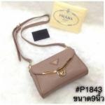 กระเป๋าสะพายข้าง Prada มาใหม่งานสวยน่ารัก ขนาด 9 นิ้ว ราคา 750 บาท สีตามรูป