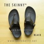 **พร้อมส่ง** FitFlop The Skinny : Black : Size US 5 / EU 36