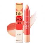 Preorder Etude House Balm + Color Tint 반밤 컬러 틴트 8000won ลิปบาล์มและทิ๊นต์ในแท่งเดียว สีสดใส เพิ่มความชุ่มชื้นให้กับริมฝีปาก