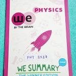 ►วีซัมมารี่◄ PHY 5913 We Summary The Winner Edition หนังสือกวดวิชาสรุปเนื้อหาฟิสิกส์ ม.ต้น ครบทั้งหมดทุกบท อ่านเข้าใจง่าย มีรูปภาพ แผนภาพ ไดอะแกรม Mind Mapping มีสรุปสูตรและเทคนิคลัดเยอะมาก พิมพ์สีทั้งเล่ม มีภาพน่ารักๆประกอบคำอธิบาย หนังสือหายาก ขายเกินรา