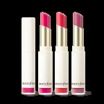 Preorder Innisfree Real fit velvet lipstick 리얼핏 벨벳 립스틱 12000vwon ลิปสติกเนื้อแมทกำมะหยี่ เพิ่มความชุ่มชื้น ความเบาไม่หนักติดบนริมฝีปากอย่างอ่อนโยนและชุ่มชื้น ให้ความสบายเหมือนไม่ได้แต่งหน้า สีสะอาดที่ติดเด่นชัดบนริมฝีปากเพียงแค่แตะเดียว และรักษาฟอร์มของสี