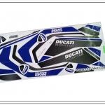 สติ๊กเกอร์ MSX-DUCATI ติดรถสีขาว