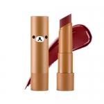 Preorder Apieu Rilakkuma Mellow lipstick RD05 (Moscow) (리락쿠마 에디션) 멜로우 립스틱 6800won สิปสติกสีสันสดใส ให้ความชุ่มชื้นและสีติดทนนาน ที่มีส่วนผสมของสารสกัดจากเชียบัตเตอร์และผลไม้ มอบความชุ่มชื้นและมันวาว