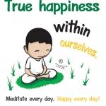 """คิดดี 005E """"True happiness"""""""