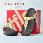 **พร้อมส่ง** รองเท้า FitFlop Chada (Leather) : Pale Gold : Size US 9 / EU 41