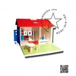 TY-5026 บ้านไม้จำลอง+เฟอร์นิเจอร์
