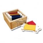 TY-1206 กล่องสี ชุดที่ 1 มี 3 คู่