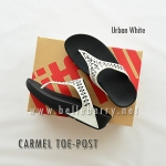 FitFlop : CARMEL Toe-Post : Urban White : Size US 6 / EU 37
