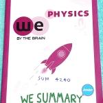 ►We Brain วีเบรน◄ SUM 4240 We Summary The Winner Edition หนังสือกวดวิชาสรุปเนื้อหาฟิสิกส์ ม.ต้น ครบทั้งหมดทุกบท อ่านเข้าใจง่าย มีรูปภาพ แผนภาพ ไดอะแกรม Mind Mapping มีสรุปสูตรและเทคนิคลัดเยอะมาก พิมพ์สีทั้งเล่ม มีภาพน่ารักๆประกอบคำอธิบาย หนังสือหายาก ขายเ