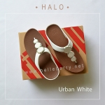 * NEW * FitFlop : HALO : Urban White : Size US 6 / EU 37