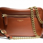 COACH LEGACY LEATHER FLIGHT BAG # 25362 สี COGNAC