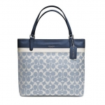 COACH SMALL TOTE IN SIGNATURE COATED CANVAS # 29783