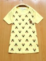 ขายขาดทุนเคลียสต็อกโปร2ตัว100บาท>:เสื้อยืดคอตตอนเนื้อดีพิมพ์สกีนมินนี่น่ารัก/อก34