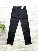 ส่ง:กางเกงขาเดฟเป๋าแต่งติดกระดุมผ้าเกาหลีเนื้อมันนิ่มใส่สบาย/เอวยืด27-34