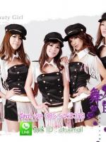 ชุดเชียร์ลีดเดอร์ แบบสาว ๆ วง After school bang ของเกาหลี