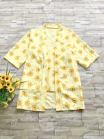 ส่ง:เช็ท2ชิ้นแบบน่ารักสดใส/เสื้อเกาะอกตัวในอก35+เสื้อคลุมอกฟรี