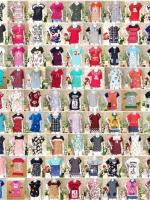 ส่งสุดคุ้ม:เสื้อสาวอวบทรงใส่สบายคละลาย>อก37-48x20ตัว (ราคานี้เฉพาะสินค้ายังไม่รวมส่งคลิ๊กดูรายละเอียดเพิ่มเติม)