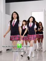 ชุดนักเรียนนานาชาติ แบบสาว ๆ วง girls' generation