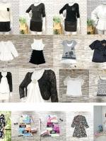 แพ็ค100ตัว:เสื้อ+เดรส+จั๊มสูท+เช็ท2ชิ้น+กางเกง+กระโปรง/คละแบบไม่มีซ้ำ
