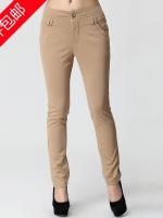 กางเกงขายาวไซส์ใหญ่ สีกากี/สีดำ (XL,2XL,3XL)