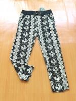 ขายส่ง:กางเกงขอบเอวใหญ่สำหรับสาวเจ้าเนื้อผ้ายืดตามตัว/สม็อกเอวยืดได้28-38