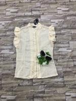 ส่ง:งานจีนเสื้อคอจีนกระดุมผ่าหน้าแต่งมุกที่ไหล่แบบสวยๆ/อก33
