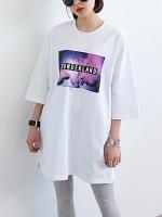 Pre-Order:สินค้านำเข้า>เสื้อยาว (มีให้เลือก3สี)