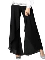 ++พร้อมส่ง++ กางเกงขายาว สีดำ (5XL)