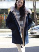 Pre-Order:สินค้านำเข้า>เสื้อคลุมขนกันหนาว (มีให้เลือก2สี)