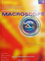 ครูพี่แนน Macroscope พร้อมเฉลยและคำอธิบายละเอียด