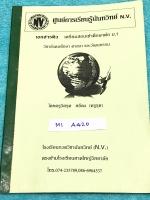►สอบเข้าม.1◄ M1 A420 ครูรุต โรงเรียนกวดวิชานันทวิทย์ N.V. เอกสารติว เตรียมสอบเข้าศึกษาต่อ ม.1 วิชาสังคม ศาสนา และวัฒนธรรม มี Test แนวข้อสอบสอบเข้า ม.1 มี test ทั้งระดับเบสิกพื้นฐานจนถึงเพิ่มความยากระดับขั้นสูง มีจดเฉลยครึ่งเล่ม