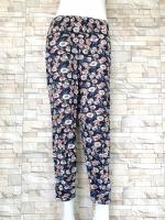 ส่ง:กางเกงผ้านิ่มใส่สบายเป๋าหน้า2ข้างขาจั๊ม/เอวยืดได้26-46
