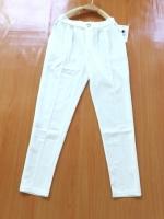 ขายส่ง:งานจีนกางเกงใส่พริ้วปลายขาเดฟนิดนึ่ง/สม็อกหลังเอวยืด24-36