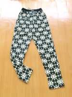 ขายส่ง:กางเกงเอวรูดสายเชือกผูกทรงใส่สบาย/สม็อกเอวยืดได้23-36