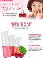 พร้อมส่ง ET107 Etude House Fresh Cherry Tint ลิปทิ้นส์ตัวใหม่กลิ่นหอมเชอรี่ มี 3 สี ให้ริมฝีปากดูสวย เซ็กซี่ ติดทนนาน ปากฉ่ำพอดีเกาหลีมากๆ