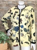 ส่ง:เสื้อลายสวยๆแขนยาวทรงใส่สบายพริ้วๆงานสวยผ้าเนื้อดี/อก38