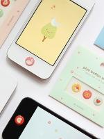 Pre Order / สติ๊กเกอร์ ปุ่มกด iphone4