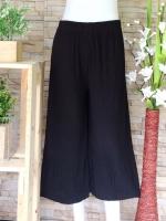 ขายส่ง:กางเกงอัดพรีทขาตรงบานทรงใหญ่ใส่สบาย/เอวยืดได้28-50