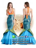 ชุดเจ้าหญิงนางเงือก ชุดแฟนซีใต้ทะเล ชุดคอสเพลย์ ชุดแฟนซีนางเงือก ชุดเจ้าหญิงเมอเมด