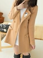 PRE-ORDER:สินค้านำเข้า> เสื้อโค้ทคลุม (มีให้เลือก2สี)