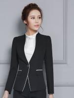 ชุดสูทยูนิฟอร์มพนักงานออฟฟิต เสื้อสูทสีดำ พร้อมกางเกงสีดำ