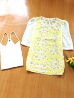 ขายส่ง:งานจีนเสื้อลูกไม้ฉลุเป็นลายดอก+เสื้อตัวใน/อก38